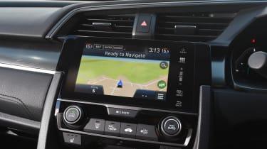 Honda Civic diesel - infotainment