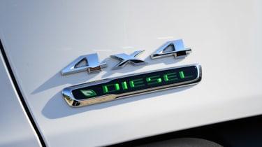 Jeep Cherokee diesel 2014 badge