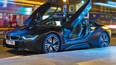 Best new cars of 2017: our road tests of the year - BMW i8