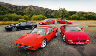 Top 5 greatest ever V8 Ferraris - header