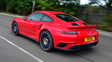 Porsche 911 Turbo S - rear