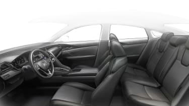 Honda Insight Prototype - seats