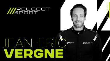 Peugeot WEC - Vergne