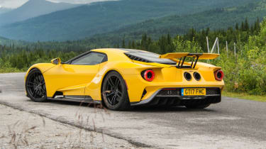 Ford GT Norway road trip - lowered