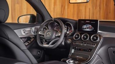 Mercedes-AMG GLC 63 Coupe interior