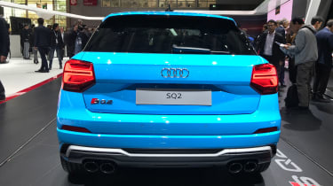 Audi SQ2 - Paris full rear