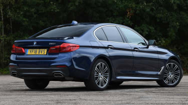 BMW 5 Series - Rear Still
