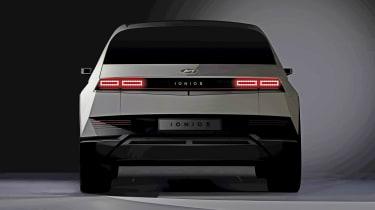 Ioniq 5 - teaser rear