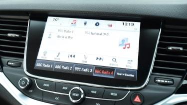 Vauxhall Astra ST - sat-nav