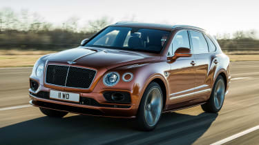 Bentley Bentayga Speed - front