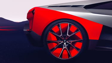 BMW Vision M NEXT concept - rear wheel