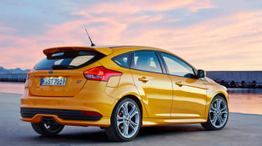 Ford Focus ST diesel static