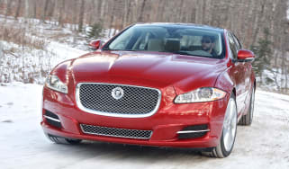 Jaguar XJ AWD front action