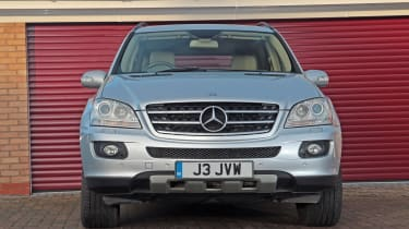 Used Mercedes M-Class - full front