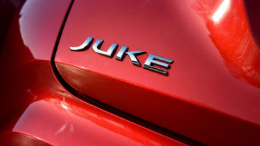 Nissan Juke - badge