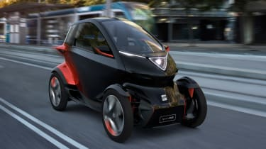SEAT Minimo concept - front action