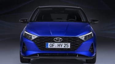 New Hyundai i20 2020 leaked pictures nose