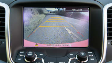 Vauxhall VXR8 Maloo - reversing camera