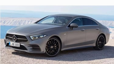 Mercedes CLS leaked pic front