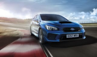 Subaru WRX STi Final Edition front