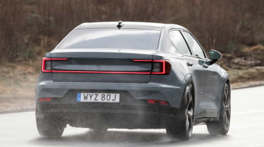 Polestar 2 prototype - rear action