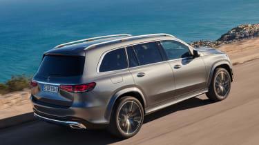 Mercedes GLS - grey rear tracking