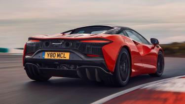 McLaren Artura - track rear