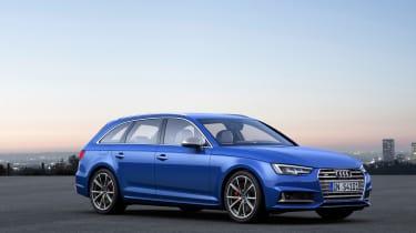 Audi S4 Avant 2016 - front quarter
