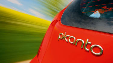 Kia Picanto badge