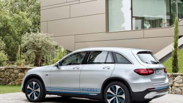 Mercedes GLC F-Cell - rear static