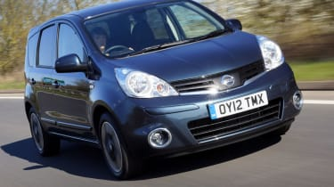 Nissan Note 1.5 dCi N-TEC+ front tracking