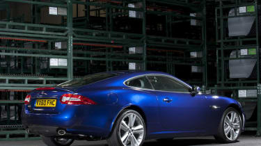 Jaguar XK Coupe rear three-quarters
