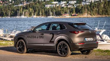 Mazda EV prototype - rear static