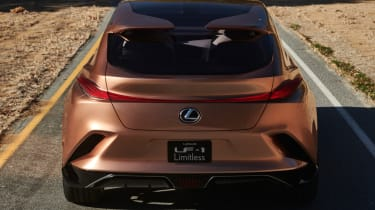 Lexus LF-1 Limitless - rear end