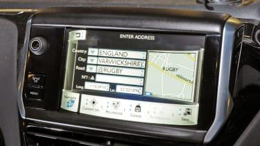 Peugeot 208 sat nav detail