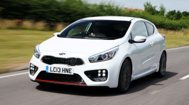 Kia Pro_cee'd GT 2013 front tracking