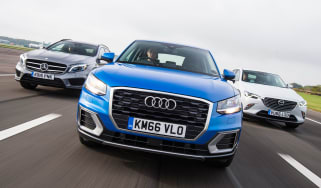 Audi Q2 vs Mazda CX-3 vs Mercedes GLA - header