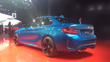 BMW M2 - rear quarter show