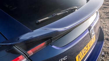 New Honda Civic Sport Line wing