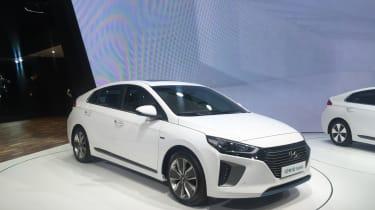 Hyundai Ioniq - Geneva - front three quarter