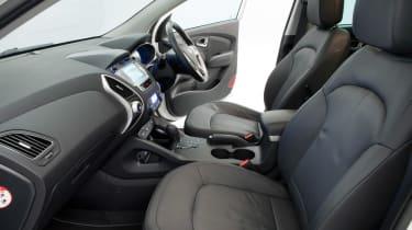 Hyundai ix35 used car guide 2013 interior seats