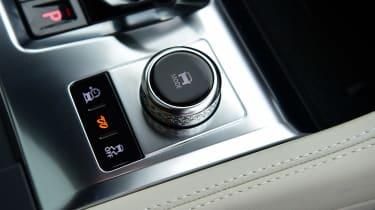 Jaguar F-Pace SVR - interior detail