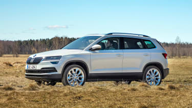 Skoda Karoq - side static