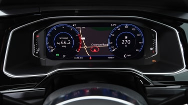 vw polo r-line dashboard instruments virtual cockpit