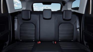 Dacia Duster - rear seats