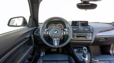 BMW M235i 2014 interior