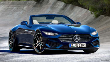 Mercedes SL 2021 - front