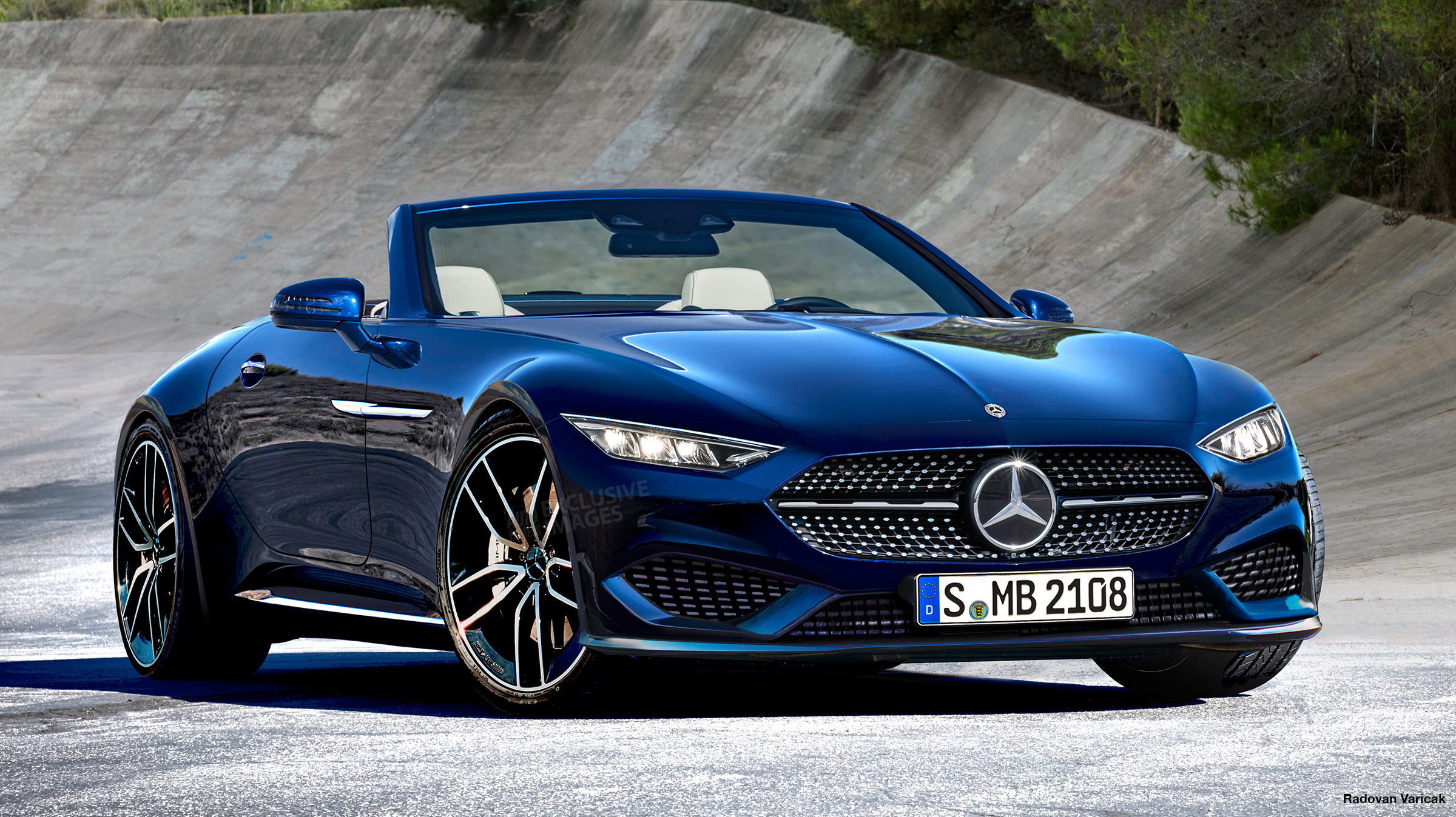 New 2021 Mercedes SL to be developed by AMG with 2+2 ...