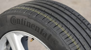 Continental summer tyre