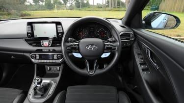 Hyundai i30 N - interior
